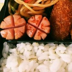 お弁当に❁ウィンナー飾り切りクローバー