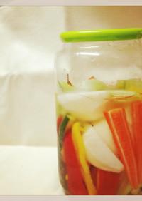 ぽりぽり野菜の彩りピクルス