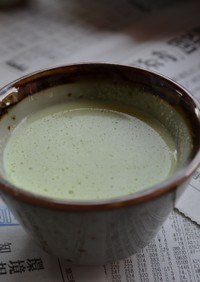 えだまめの冷製スープ ヴィシー風