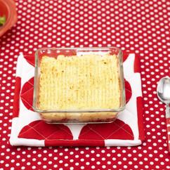 合い挽き肉とポテトのキャセロール