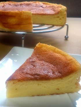 HMで*ヨーグルトスフレチーズケーキ♦