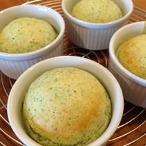 青のり蒸しパン
