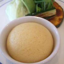 メロンの蒸しパン