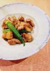 夏バテ解消!鶏肉とオクラのスタミナ煮物