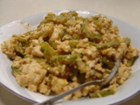 ゴーヤチャンプル(豆腐入り)