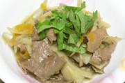 簡単☆牛肉とごぼうのしぐれ煮の写真