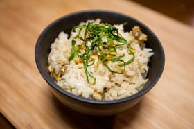 生姜とあさりの炊き込みご飯