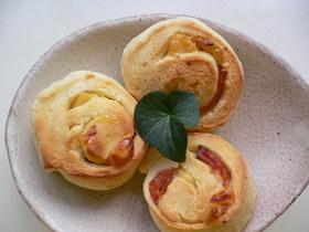 簡単美味!!しっとりモチモチパン