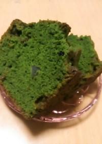 簡単抹茶パウンドケーキ