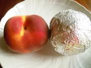 桃農家さん伝授の桃の長期保存方法の写真
