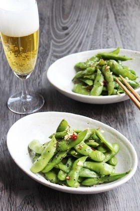 ピリッと辛い大人の味「台湾風枝豆」
