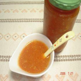 圧力鍋で☆我が家の簡単トマトソース