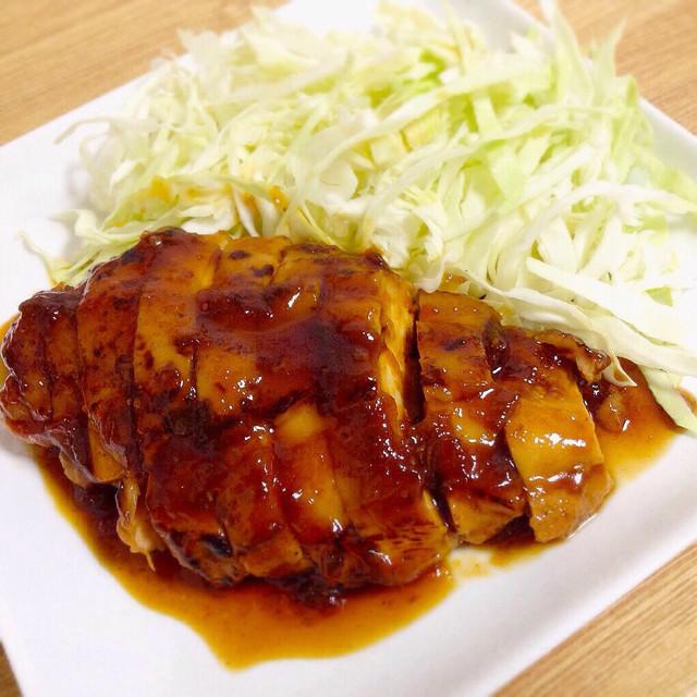 鶏の梅ジャム(マーマレード)煮