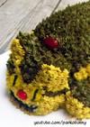 トトロのネコバスのケーキ