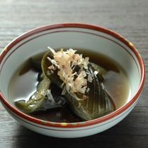 ナスの麺つゆ煮