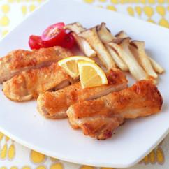 鶏もも肉のレモンガーリックソテー