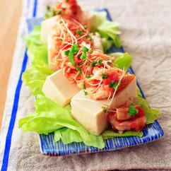 ささみ明太豆腐サラダ