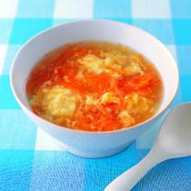 にんじんのかきたまスープ