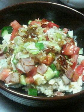豆腐ライス