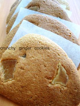 病み付きジンジャークッキー
