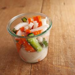 野菜ミックスの塩麹漬け