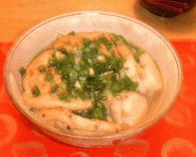 がんもと山芋の関西風煮物