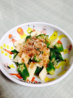 簡単!オクラと長芋のネバネバサラダ