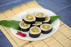 ぐるぐる巻き寿司