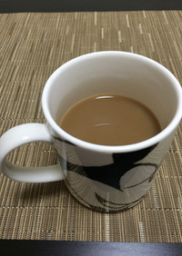 ノンカフェイン!麦茶でコーヒー風
