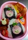 幼稚園 お弁当★いちごおにぎり★