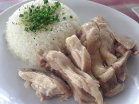 炊飯器で簡単!海南鶏飯