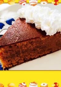 フライパンDEホッチョコケーキ