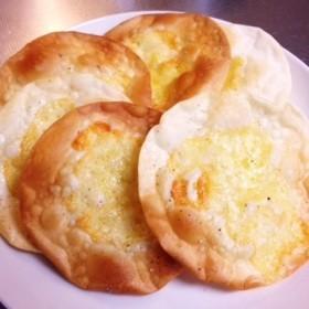 餃子の皮アレンジ チーズ焼き