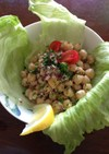 栄養満点 ひよこ豆の簡単サラダ