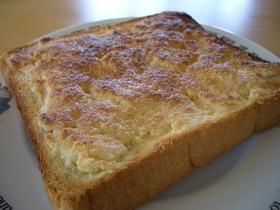 さくさく♪アーモンドシュガーのトースト