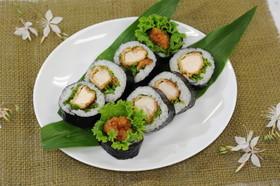 梅ぇーカツ巻き寿司☆