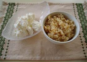 ホエー(乳清)で玄米を炊く!