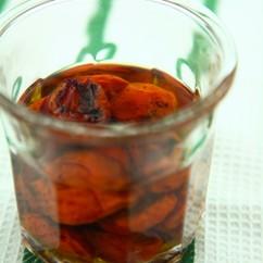 焼きトマトのオリーブ油マリネ