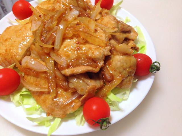 簡単お店の味!豚ロース生姜焼き☻