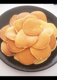 朝マック風パンケーキ