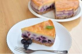 しむさんのブルーベリーチーズケーキ