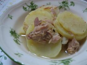 ツナとジャガイモの簡単煮込み
