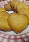 おやつにピッタリ☆ハートクッキー