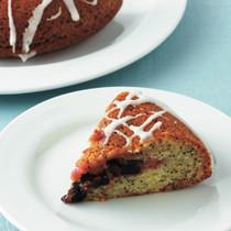 ポピーシードとぶどうのケーキ