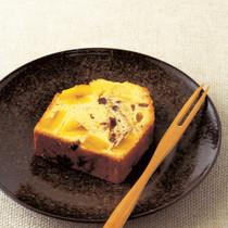 あずきと栗のパウンドケーキ日本酒風味