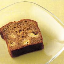 黒砂糖とバナナのケーキ
