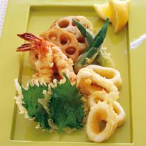 海鮮&野菜天