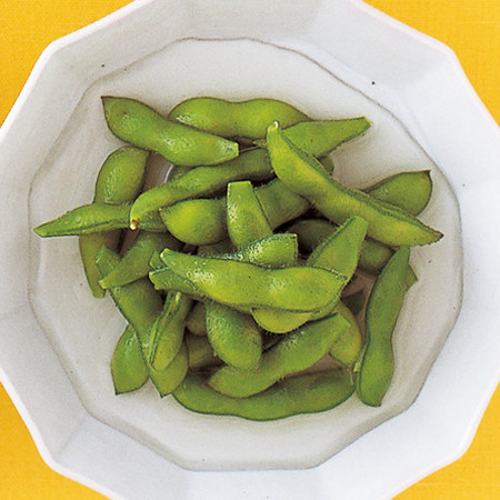 枝豆の塩水漬け