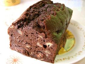 ずっしり☆チョコバナナパウンドケーキ
