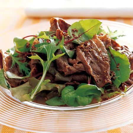 牛肉のしゃぶしゃぶサラダ